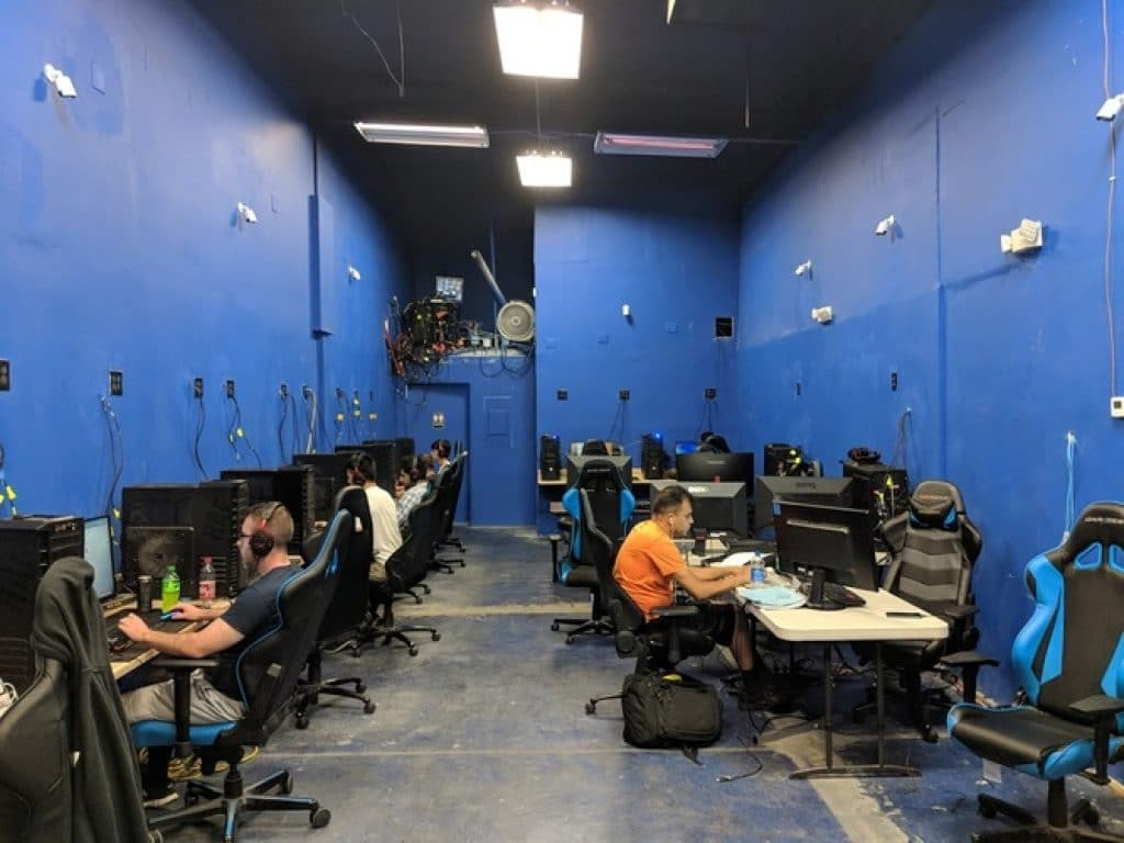 Picture of a gaming facility