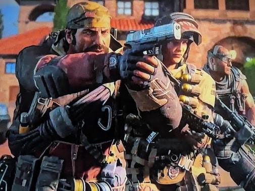 Screenshot of Call of Duty IIII trailer