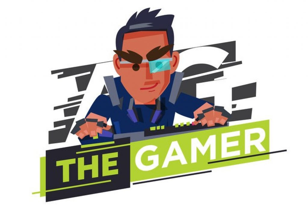 Example of a streaming game logo icon