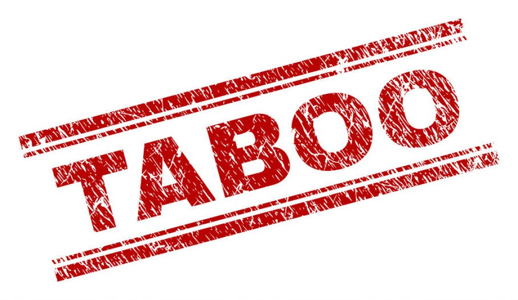 Scratched Textured TABOO Stamp Seal